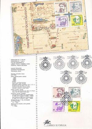 Portugal 1993 Portuguese navigators (4th Issue) FOLa