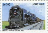 Sierra Leone 1995 Railways of the World 4e