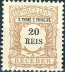St Thomas and Prince 1904 Postage Due Stamps (S.THOMÉ) c