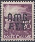 Trieste-Zone A 1947 Democracy (Italy Postage Stamps of 1945 Overprinted) k