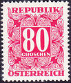 Austria 1949 Postage Due Stamps - Square frame with digit (1st Group) j.jpg
