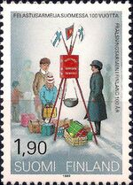Finland 1989 Centenary of the Salvation Army in Finland a
