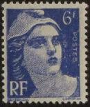France 1945 Marianne de Gandon (1st Group) g