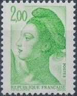 France 1982 Liberty after Delacroix (1st Issue) k