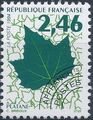 France 1994 Leaves - Precanceled b.jpg
