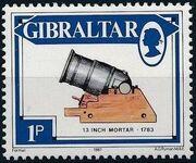 Gibraltar 1987 Guns and Artillery a