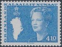 Greenland 1988 Queen Margrethe II b
