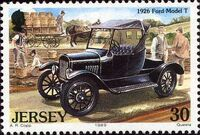 Jersey 1989 Vintage Cars d