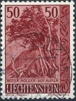 Liechtenstein 1959 Native Trees and Shrubs (3rd Group) b