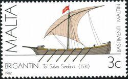 Malta 1982 Maltese Ships (1st Series) a