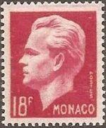 Monaco 1951 Prince Rainier III f
