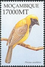 Mozambique 2002 Birds of Africa k