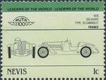 Nevis 1985 Leaders of the World - Auto 100 (3rd Group) i