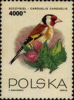 Poland 1993 Birds d