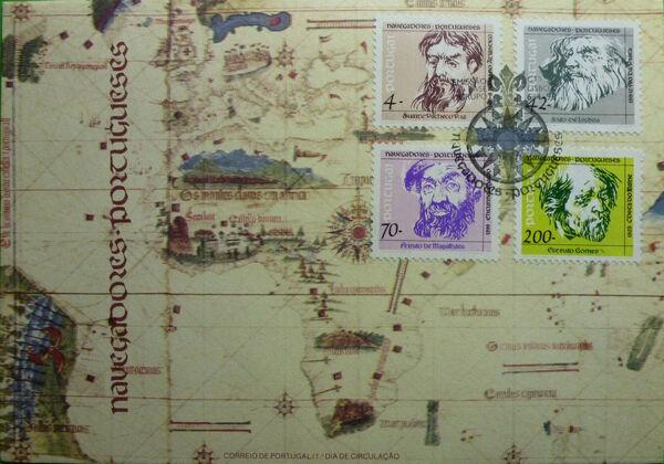 Portugal 1993 Portuguese navigators (4th Issue) FDCa