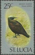 St Lucia 1976 Birds j