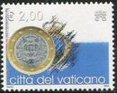 Vatican City 2004 Flags and One-Euro Coins n