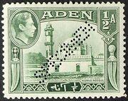 Aden 1939 Scenes - Definitives as