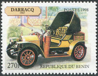 Benin 1998 Vintage Cars d
