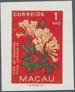 Macao 1953 Indigenous Flowers aa