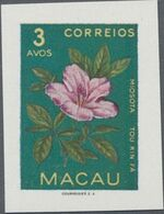 Macao 1953 Indigenous Flowers ba