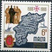 Malta 1966 4th Centenary Of The Foundation Of Valletta c