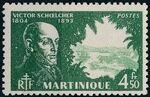 Martinique 1945 Victor Schoelcher o