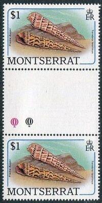 Montserrat 1988 Sea Shells gj