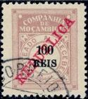 "Mozambique Company 1911 Postage Due Stamps Overprinted ""REPUBLICA"" g"