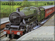 Sierra Leone 1995 Railways of the World m
