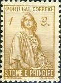 St Thomas and Prince 1934 Ceres - New Values a