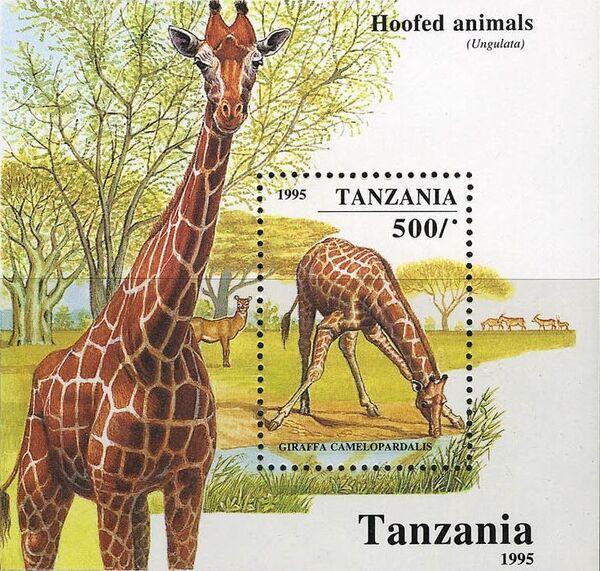 Tanzania 1995 African Hoofed-animals i