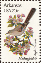 United States of America 1982 State birds and flowers d