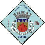 Angola 1963 Coat of Arms - (1st Serie) o