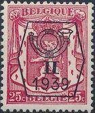 Belgium 1939 Coat of Arms - Precancel (2nd Group) c