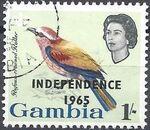 Gambia 1965 Birds Overprinted h
