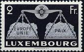 Luxembourg 1951 European Agreement c