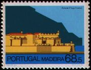 Madeira 1986 Forts in Funchal and Machico c