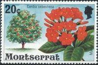 Montserrat 1976 Flowering Trees g