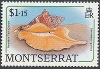 Montserrat 1988 Sea Shells k