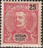 Mozambique 1903 D. Carlos I - New Values and Colors b