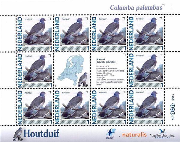 Netherlands 2011 Birds in Netherlands MS24