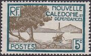 New Caledonia 1928 Definitives d