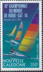 New Caledonia 1989 Hobie-Cat 14 10th World Championships a