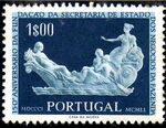 Portugal 1954 150th Anniversary of the Founding of the State Secretariat for Financial Affairs a