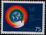 Portugal 1986 International Year of Peace a