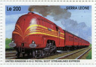 Sierra Leone 1995 Railways of the World fa