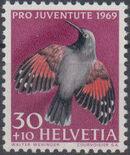 Switzerland 1969 PRO JUVENTUTE - Birds c