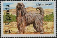Uganda 1993 Dogs a
