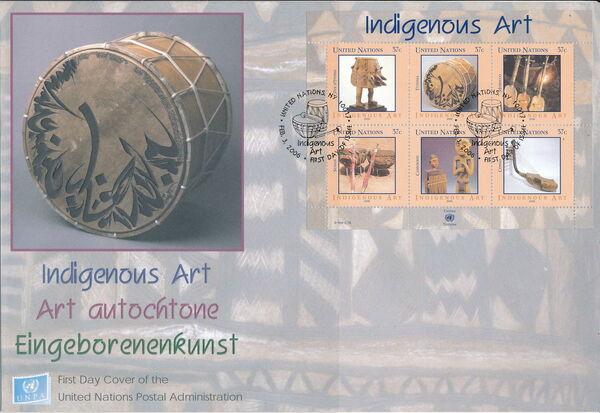 United Nations-New York 2006 Indigenous Art p